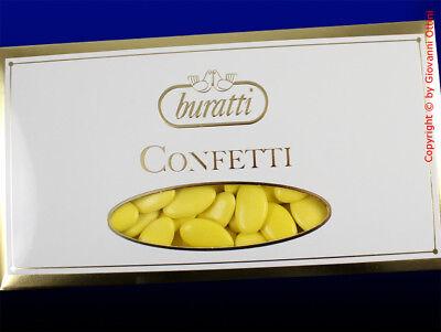 Confetti Buratti Cioccolato Fondente Giallo 1 Kg Senza Glutine Sconto Online