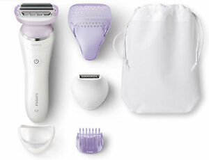 Womens-Cordless-Electric-Wet-Dry-Philips-Dual-Foil-Shaver-Body-Hair-Trimmer-New