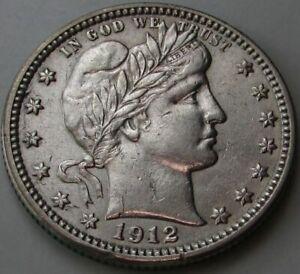 1912-Barber-Quarter-in-a-SAFLIP-AU-Details