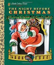 Little Golden Book: The Night Before Christmas by Clement C. Moore (2011, Hardcover)