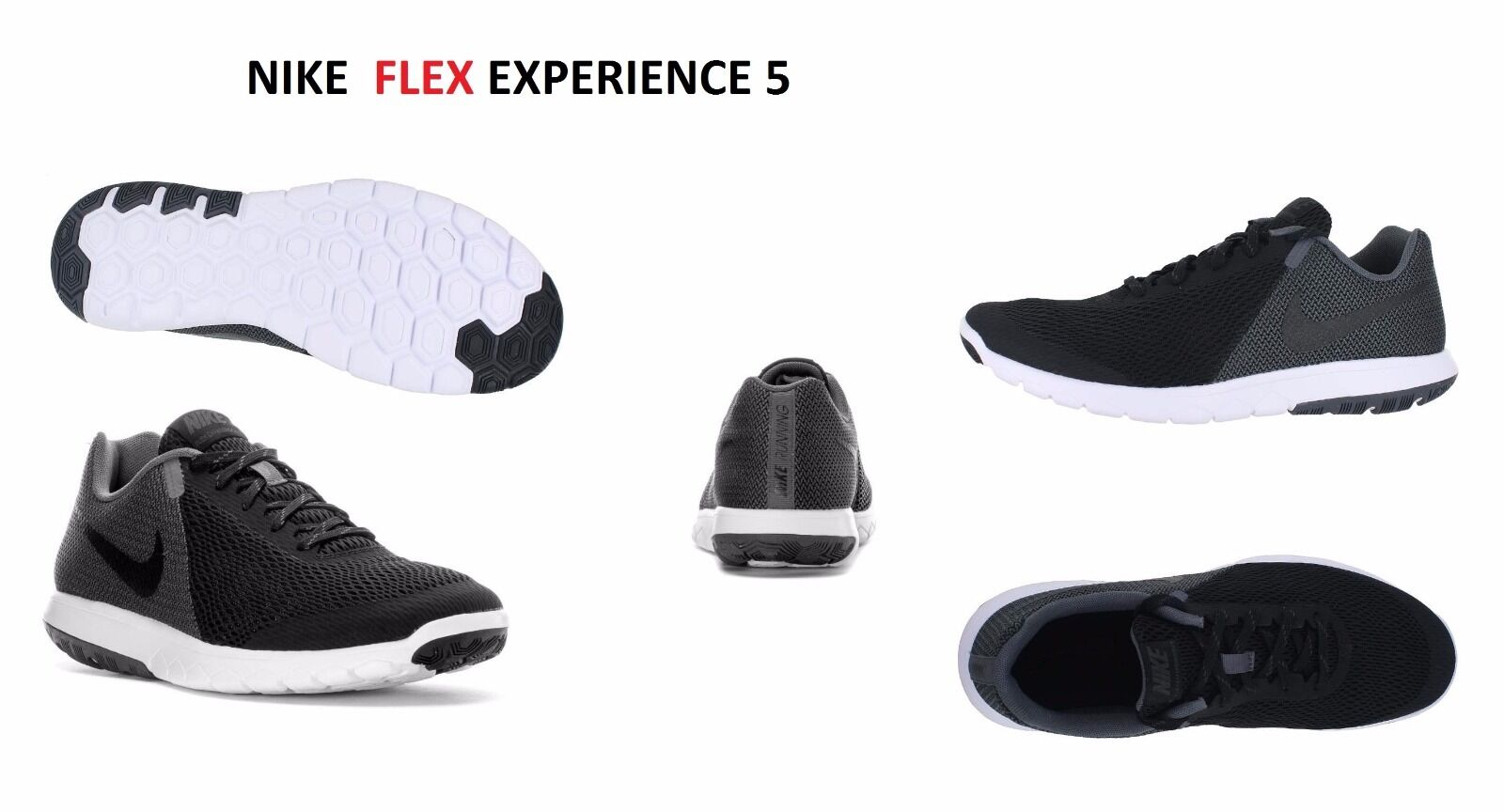 844586 002 NEW NIKE FLEX EXPERIENCE RN 5 CRoss TRainig Running schuhe