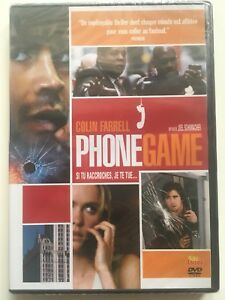 Phone-game-DVD-NEUF-SOUS-BLISTER-Colin-Farrell-Forest-Whitaker-Katie-Holmes