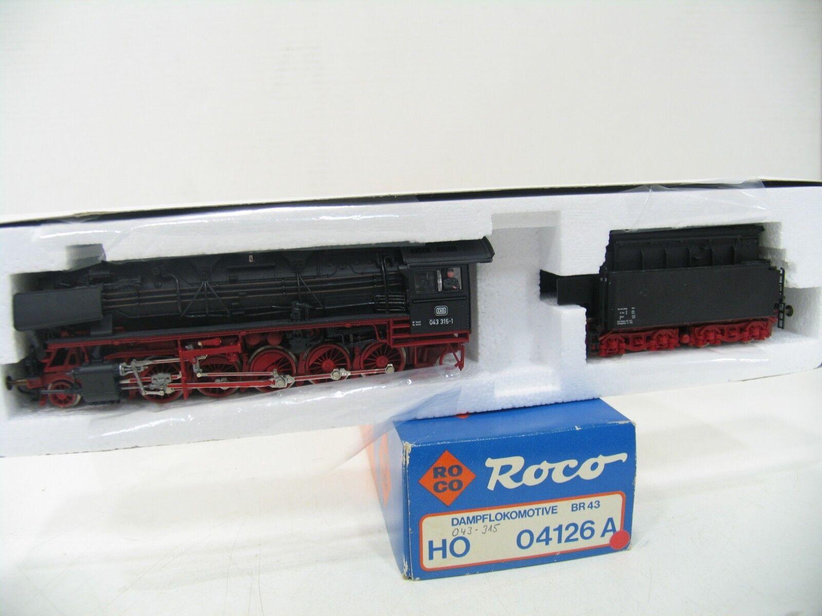 Roco 04126a Steam Locomotive BR 043 315 the DB wm92
