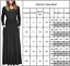Womens-Long-Sleeve-Jersey-Maxi-Dress-Evening-Party-Holiday-Casual-Swing-Dresses thumbnail 6