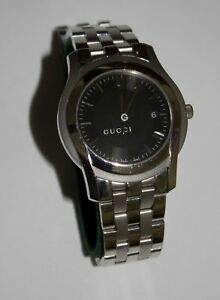 d4147402eec Image is loading Used-Gucci-5500XL-Men-s-Watch