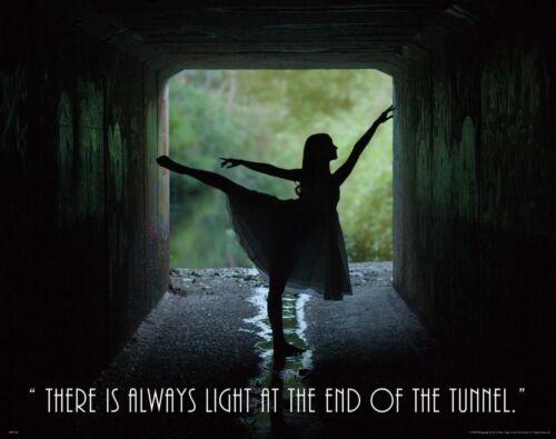 Ballet Dance Motivational Poster Art Print Shoes Flats Tutu Leotard Skirt MVP556