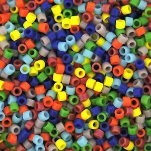 Miyuki-Delica-Seed-Beads-Size-11-0-Opaque-Rainbow-Mix-7-2g-Tube-DB-MX37