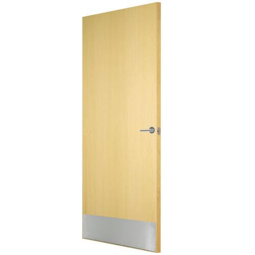 550 x 100 Satin Aluminium Kick Plate Repair Bottom Door Protector Kickplate SAA