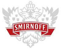 Smirnoff Vodka Decal Sticker Decal Vinyl Logo 4 Stickers