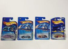 Lot of 4 Hot Wheels Mixed Assorted Carded Cars 2000's 1st edition Sinistra