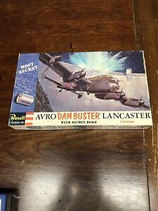 Revell-1-72-Avro-Lancaster-Dam-Buster-with-Secret-Bomb-Plastic-Kit-H-202-NIB