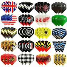 60pcs Dart Flights 20 Sets Mixed Type Colored Darts  Flight Standard Shape