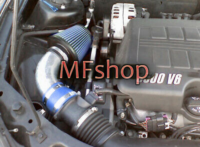 BLACK BLUE 2004-2011 CHEVY MALIBU//PONTIAC G6 3.5L//3.6L//3.9L V6 AIR INTAKE KIT S