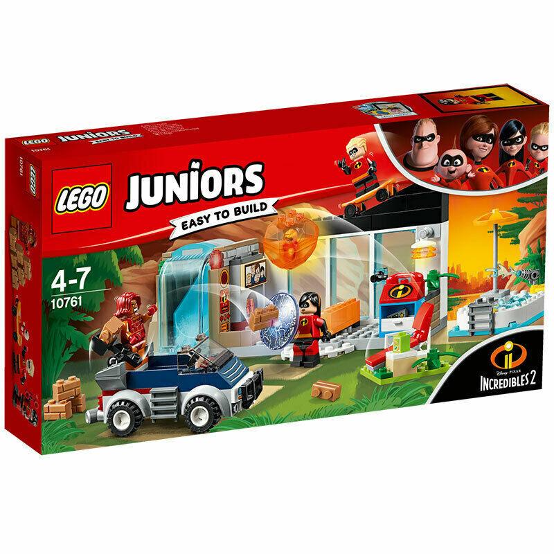 LEGO® Juniors 10761 Incredibles 2 - Die große Flucht - NEU   OVP