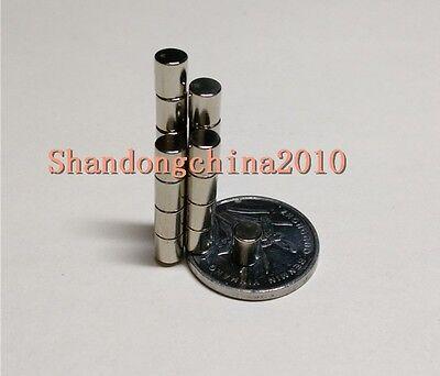 100PCS Strong Neodymium disc magnet 4mm x 6mm N35 fridge models reborn craft