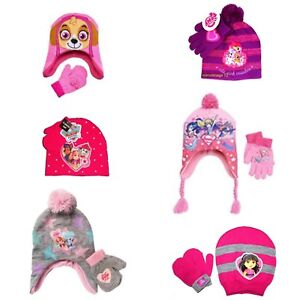Girls Winter Hats   Mittens Dora Super Hero Girls My Little Pony Paw ... c2112c2fdeb