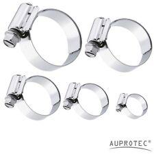 DIN 3017 Schlauchschelle Edelstahl W4 V2A Spannbereich /Ø 70-90 mm Bandbreite 13 mm Industriequalit/ät mit Schneckengewinde ER-BI/®