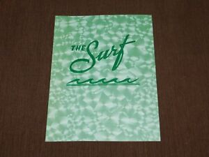 VINTAGE OLD DINING THE SURF MENU