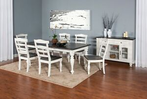 Superior Image Is Loading Carriage House Furniture 7 Piece Dining Room Set