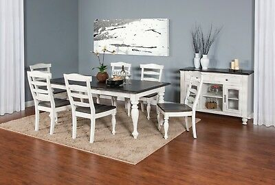 Exceptionnel Carriage House Furniture 7 Piece Dining Room Set 1015EC
