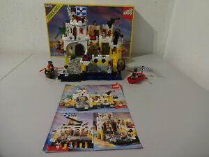 (go) Legoland 6276 Eldorado Forteresse Avec Neuf Dans Sa Boîte & Ba 100% Complet D'occasion-afficher Le Titre D'origine