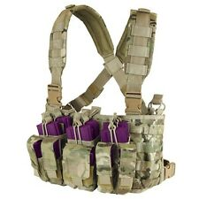 Condor Mcr5 Multicam Tactical MOLLE Pals Kangaroo Magazine Pouch Recon Chest Rig