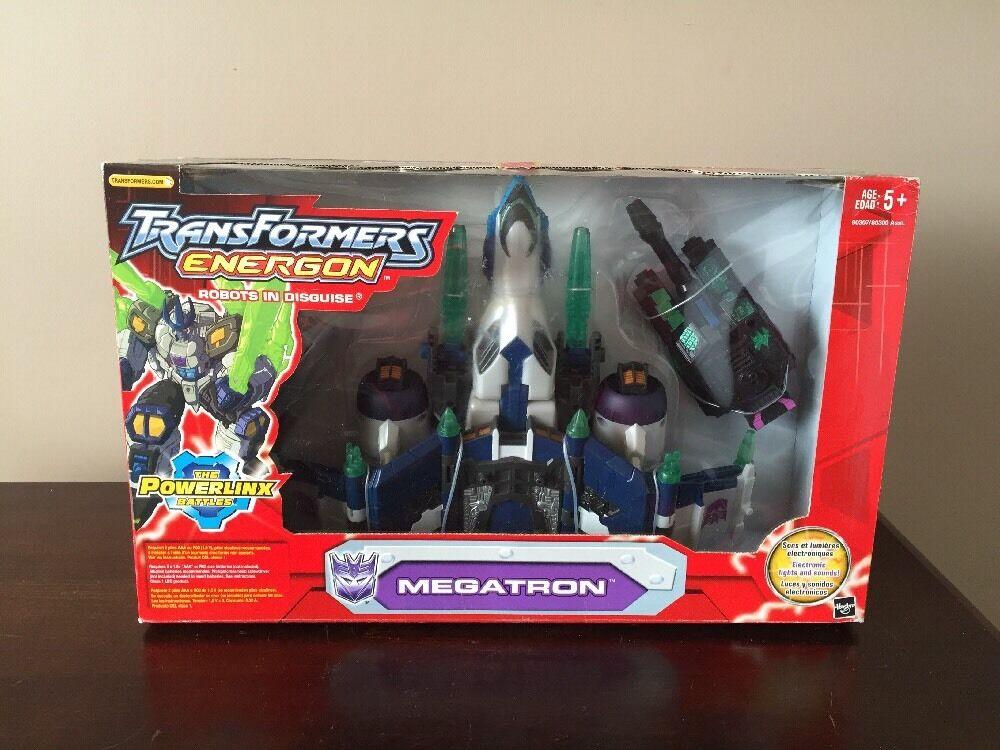 Hasbro Transformers Energon Megatron Mib Sin Abrir Sellado Película Comic Juguete Figura