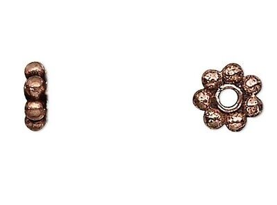 50 Grams Antiqued 100/% Copper 4x1.25mm Daisy Spacer Beads Approximately 490