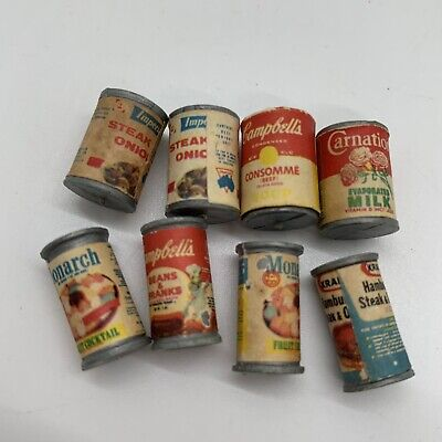 Lot of Dollhouse Miniature Groceries