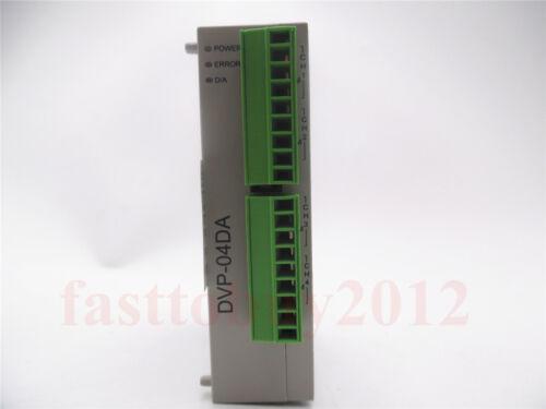 NEW Delta PLC DVP04DA-S analog I//O Module 4AO 12 bit RS485 1Y Warranty