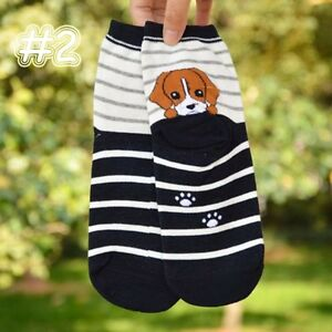 1Pair-3D-Warm-Cartoon-Fashion-Animals-Cotton-Short-Socks-Dog-Puppy-Print-Ankle