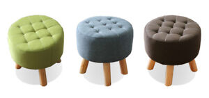 Terrific Shoptagr 10 Percents Off Round Fabric Rest Stool Footstool Pdpeps Interior Chair Design Pdpepsorg