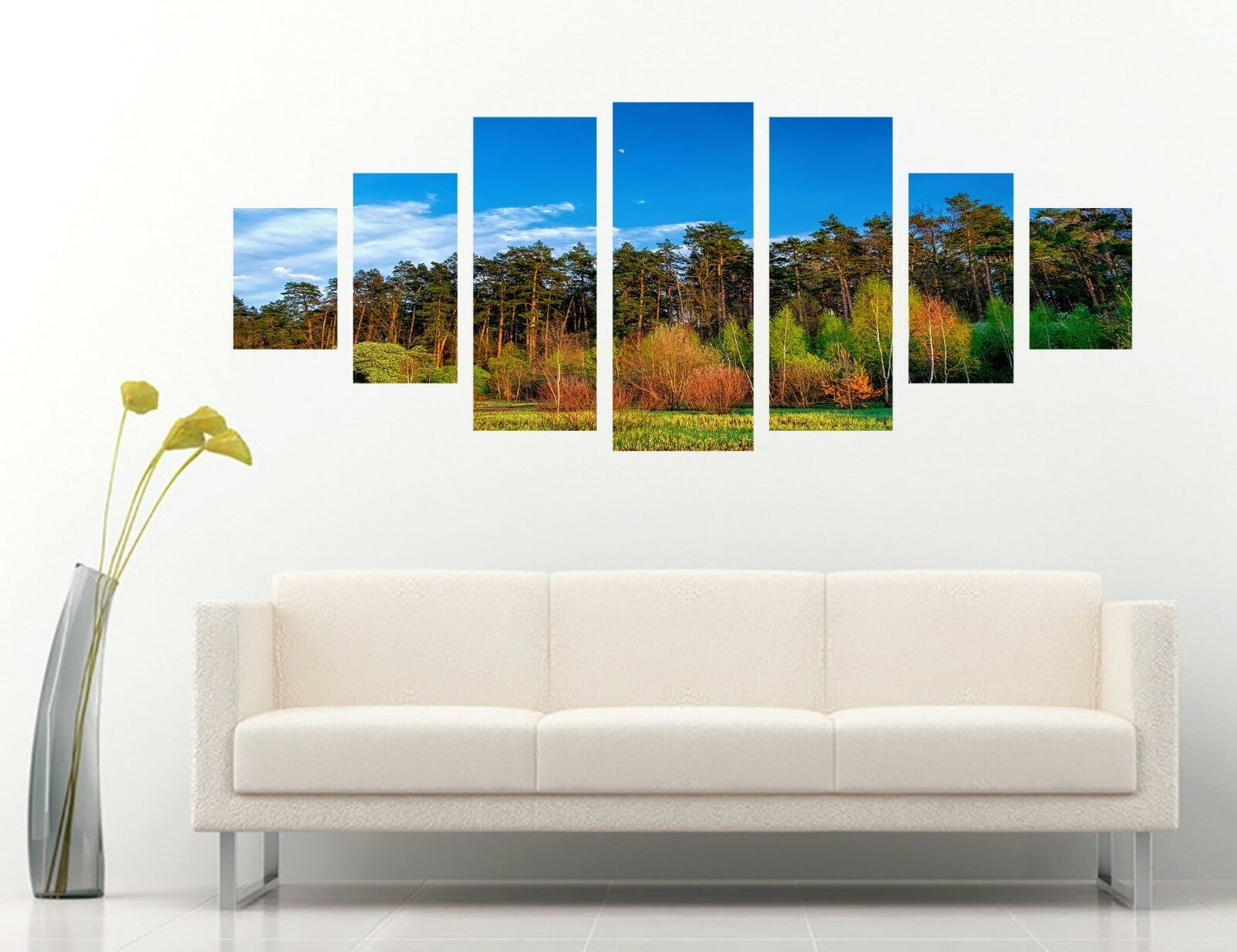 3D Sky Forest 546 Unframed Print Wall Paper Decal Wall Deco Indoor AJ Wall