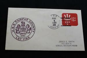 Navale-Cover-1980-Nave-Cancel-Nave-Marchio-Uss-Fairfax-County-LST-1193-3230