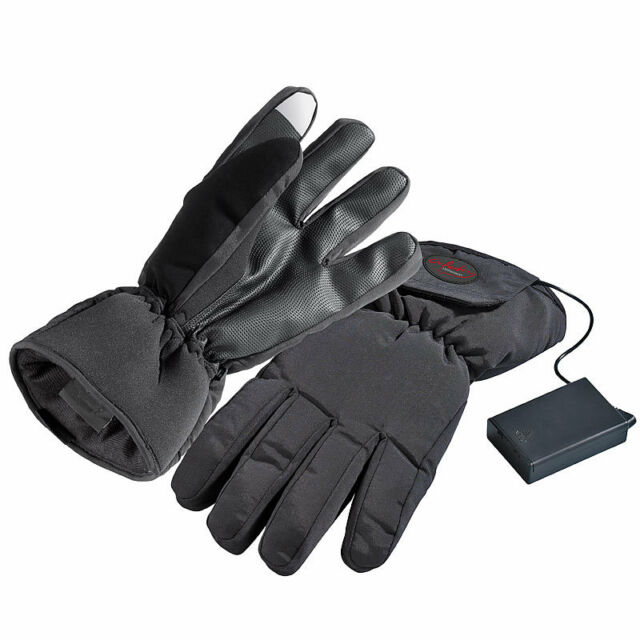Handschuhe S beheizt batteriebetrieben Winter Thermo Elektrisch beheizbare Handschuhe Gr