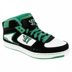 Warrior-Hound-Dog-Youth-Mid-Cut-Skate-Casual-Shoes-Black-Green