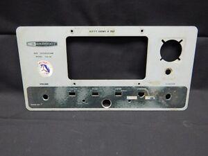 HEATHKIT HW-18 SSB Tranceiver Face Plate