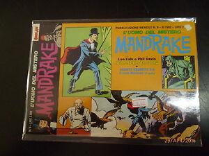 MANDRAKE L'UOMO DEL MISTERO n° 9 - COMIC ART - 1992