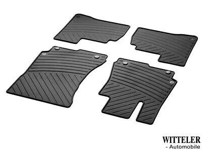 Allwetter-Fussmatten Satz S-Klasse W221 Mercedes Benz orig