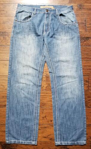Big 34 Fit Jeans jambes entre taille Relaxed pour 38 Stitch Koman Euc hommes A5qqwPI