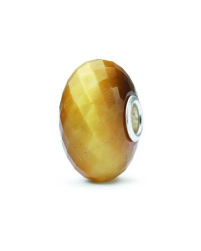 TSTBE-20026 ECHT TROLLBEADS Silber Bead Katzenauge-Quarz