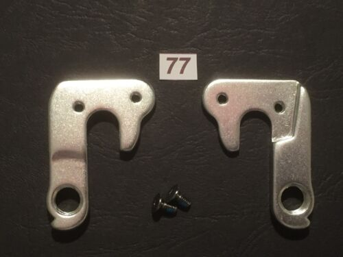 #77 Rear Derailleur Mech Gear Hanger Alloy Frame Drop Out Fitting Bolt Included