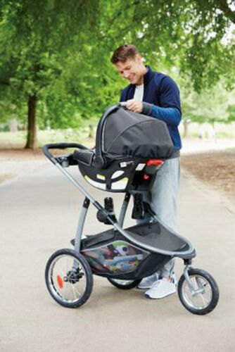 Graco Baby Modes Jogger 2.0 3-Wheel Jogging Stroller Binx NEW