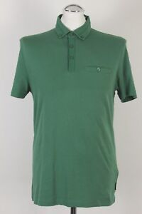 600a55ac1cb6 Image is loading TED-BAKER-London-Mens-BANKMAX-Green-POLO-SHIRT-