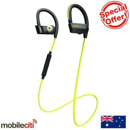 1 of 1 - Jabra Sport Pace Bluetooth Wireless Handset - Yellow