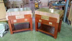 Aust-made-end-grain-BUTCHERS-BLOCK-Island-bench-6-034-Thick-TASSIE-OAK-Masterchef