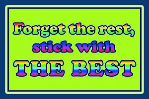 Forget-The-Rest-Baton-avec-le-les-Meilleures-Plaque-Voute-Etain-Signe-20-X-30-CM