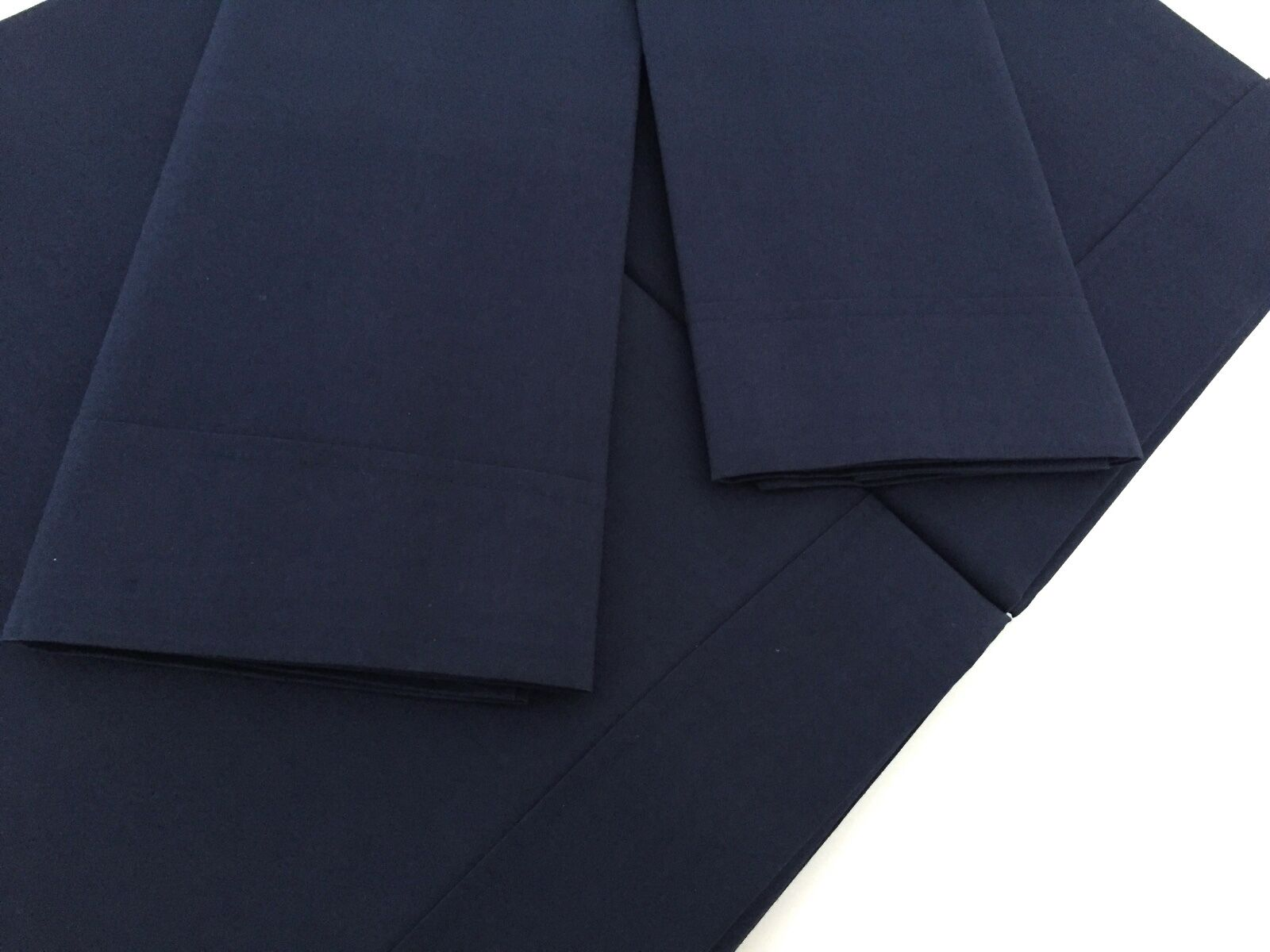 Luxury Italian 100% Egyptian Cot Percale King Sz Bed Set Sheets Midnight blueeee