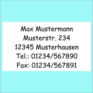 650-Adress-Etiketten-Adress-Aufkleber-Absender-Etikett-bedruckt-m-Text-n-Wunsch