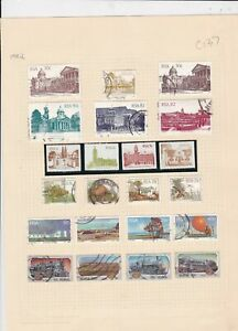 south african 1982 stamps page ref 17906